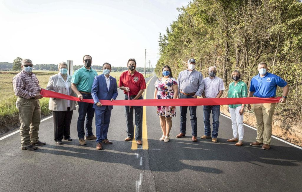 Cherokee Nation, Tahlequah officials open road improvement project