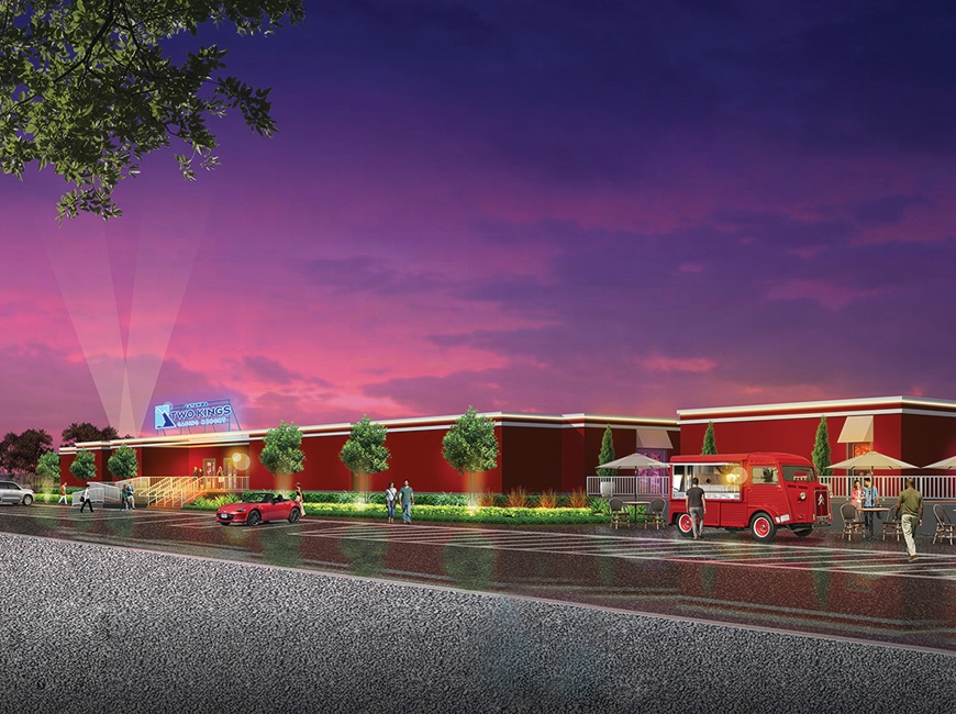 A temporary, 500-slot pre-launch gaming facility will open this summer in Kings Mountain. Donated image